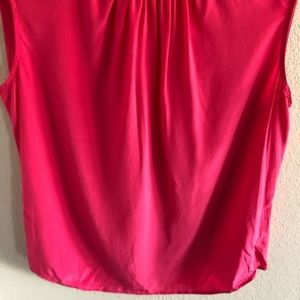 C. Wonder Tops - C. WONDER 100% silk pink sleeveless blouse M